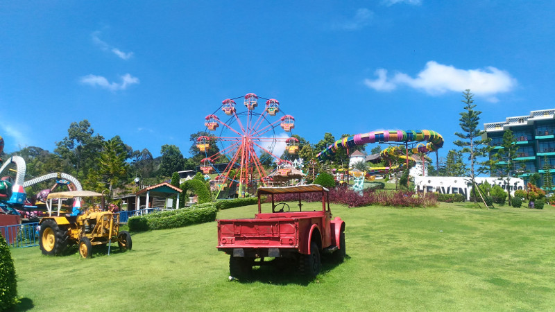 7 Heaven Freizeitpark bei Ao Nang Krabi