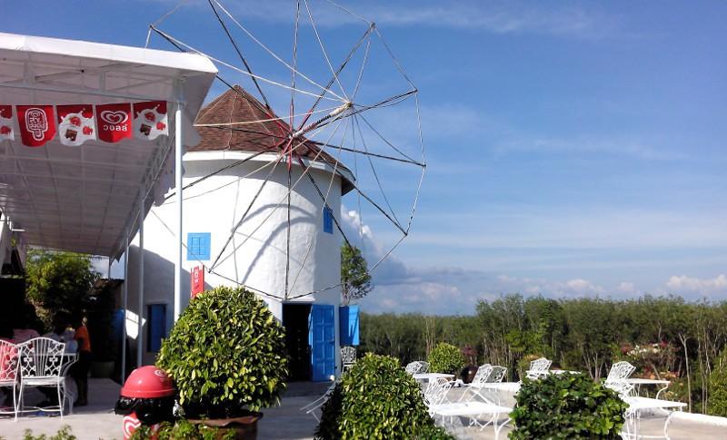 Windmühle im 7 Heaven Freizeitpark