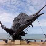 Neues Monument am Ao Nang Strand