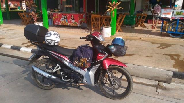 Mit dem Moped nach Koh Samui