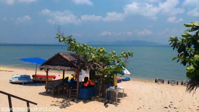 Der Bophut Beach auf Koh Samui