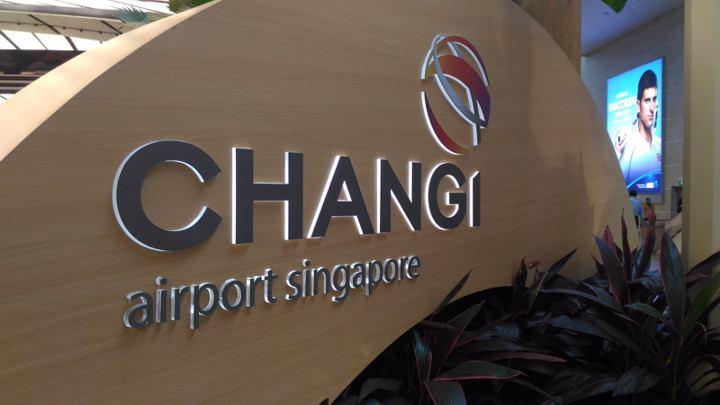Changi Airport, Singapur