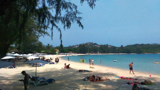 Der Choengmon Beach auf Koh Samui