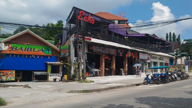 Echo Bar & Umgebung in Ao Nang