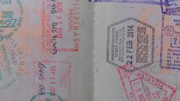 Einreisestempel Thailand