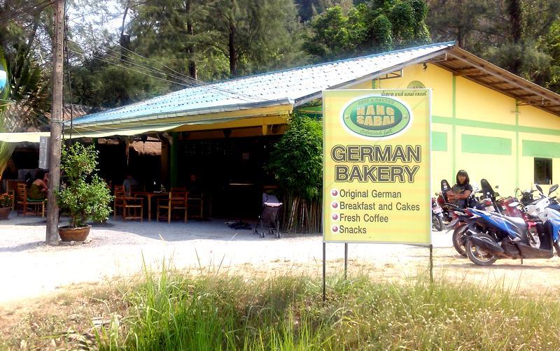 German Bakery auf Koh Lanta