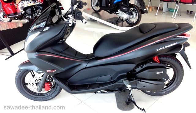 neues moped gekauft honda wave 110i sawadee thailand. Black Bedroom Furniture Sets. Home Design Ideas
