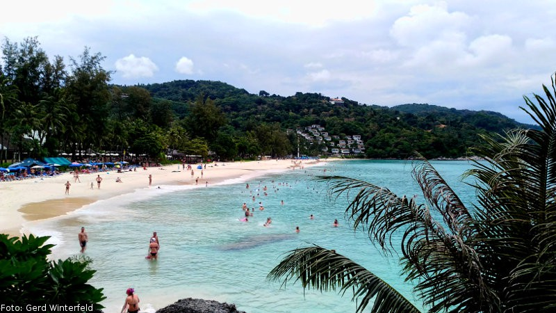 Der Kata Noi Beach auf Phuket