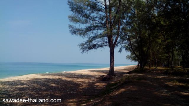 Der Thai Muang Beach