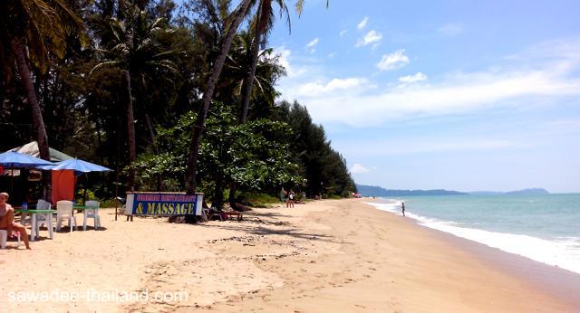 Der Khuk Khak Beach bei Khao Lak
