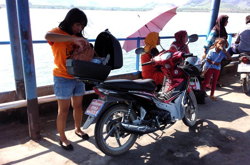 Auf der Fähre nach Koh Lanta