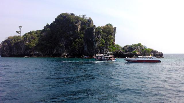 Die Insel Koh Ya Wa Sam