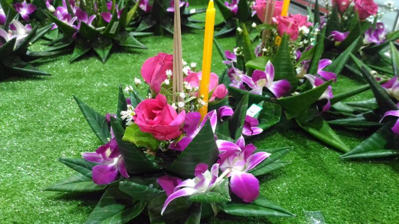 Loy Kratong, Lichterfest in Thailand