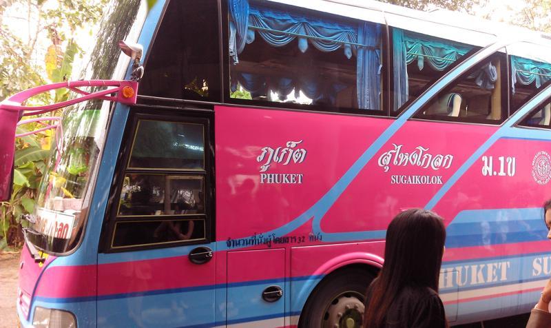 Linienbus in Thailand