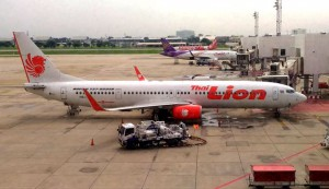 Boeing 737-900 am Don Muang Airport in Bangkok