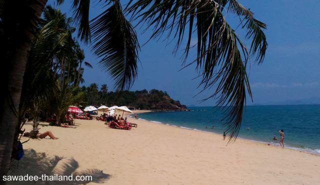 Maenam Beach auf Koh Samui