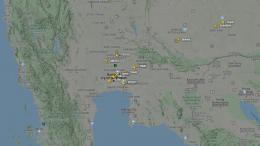 Flugeverkehr Thailand am 1. Mai 2020