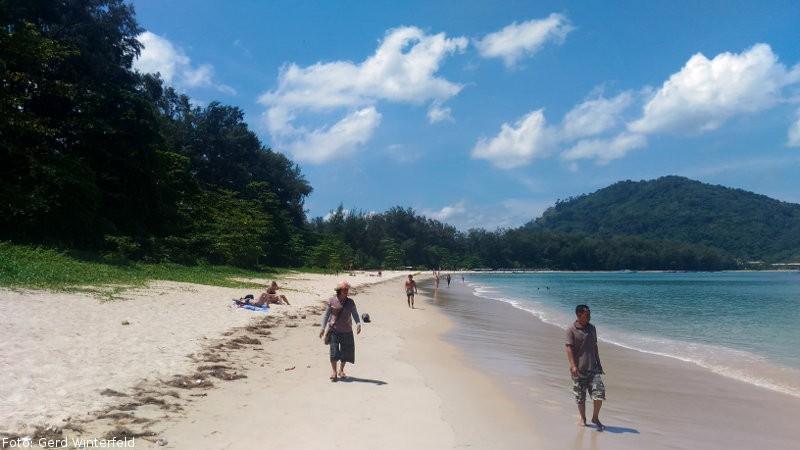 Der Nai Yang Beach auf Phuket