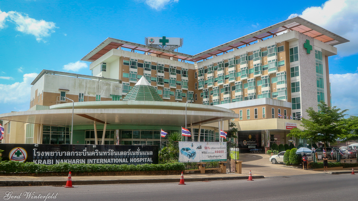 Das Nakharin Hospital in Krabi