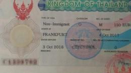 Thailand Non Immigrant Visum