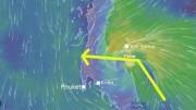 Sturm Pabuk in Thailand am 03. und 04.01.2019