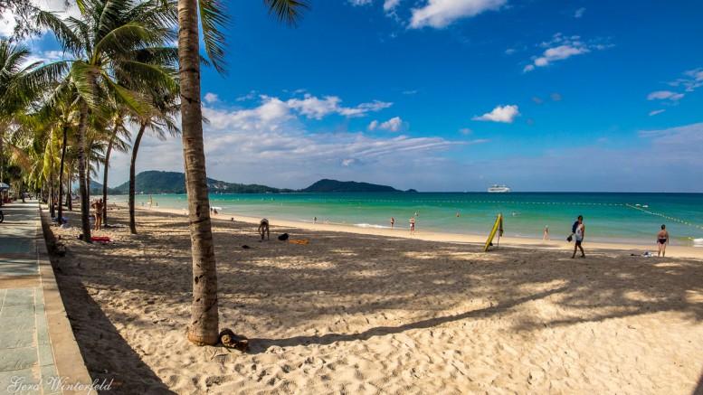 Patong Beach auf Phuket, Thailand