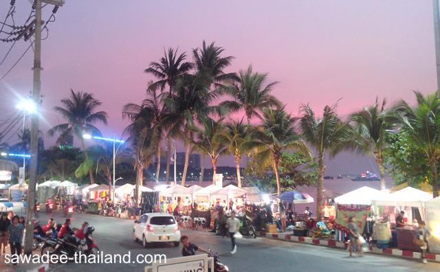Pattaya Strandpromenade