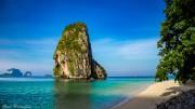 Phranang Beach bei Krabi, Thailand