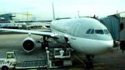 Flugzeug der Qatar Airways