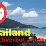 Rauchverbot an Thailand's Stränden ab 1 Februar