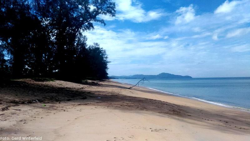 Der Sai Kaew Beach auf Phuket