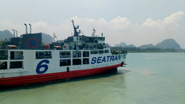 SeaTran - Fähre nach Koh Samui