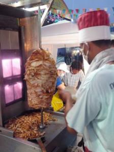 Shawarma (Gyros) auf dem Nightmarket in Krabi