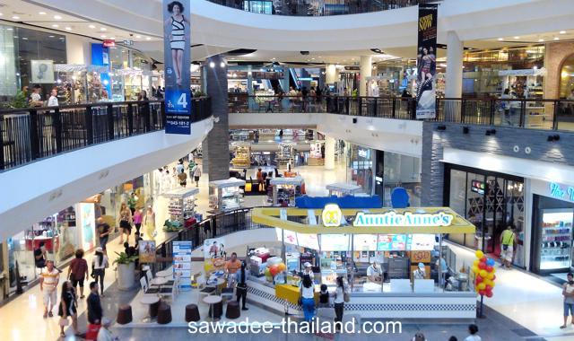Shopping Center in Pattaya