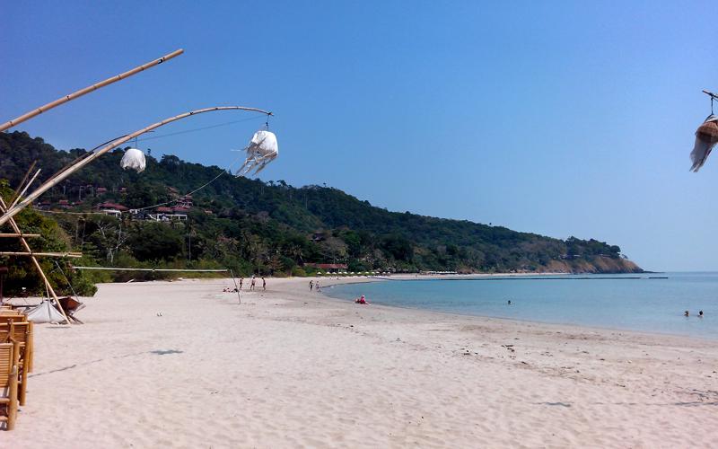 Der Ba Kan Tiang Beach auf Koh Lanta