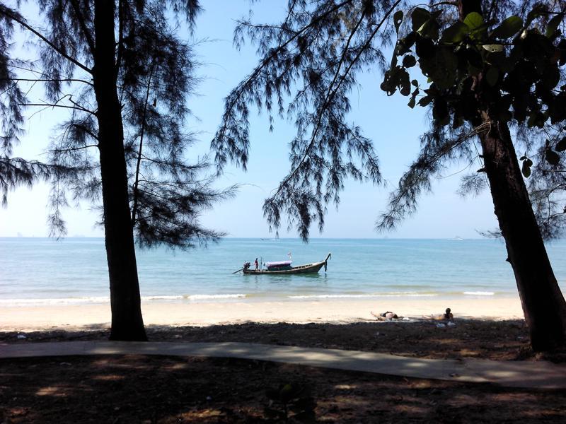 Strand bei Krabi, Thailand