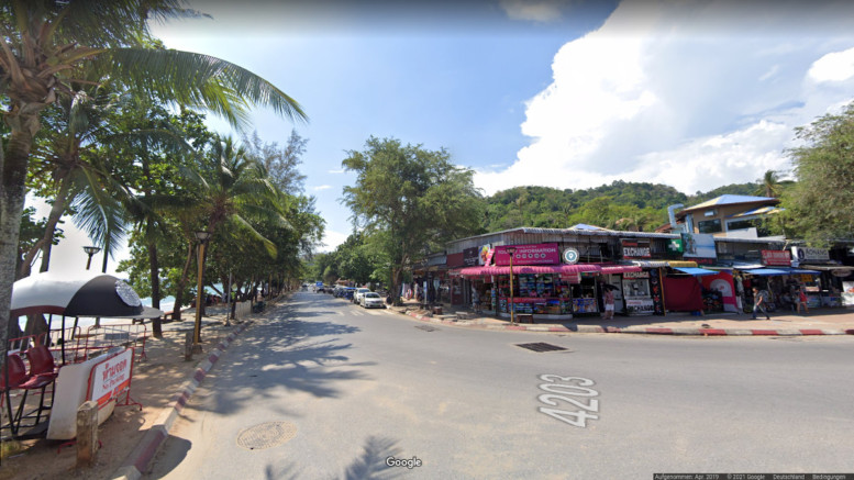 Google Street View in Ao Nang