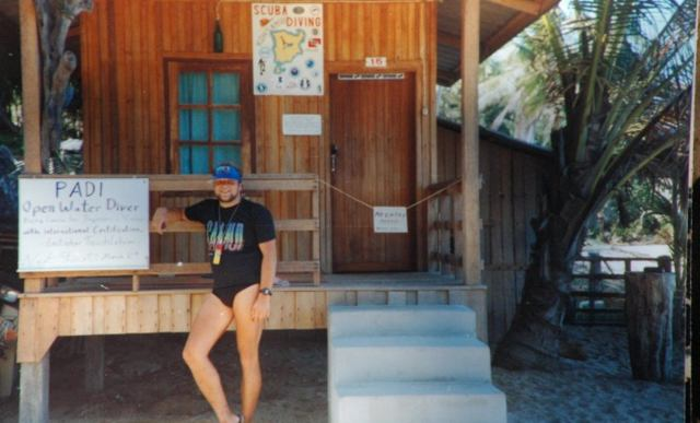 Mein Tauchshop an der Coral Cove, Koh Samui