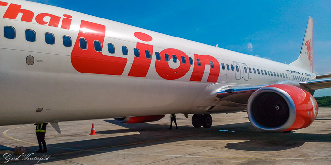 Thai Lion Air Boeing 737
